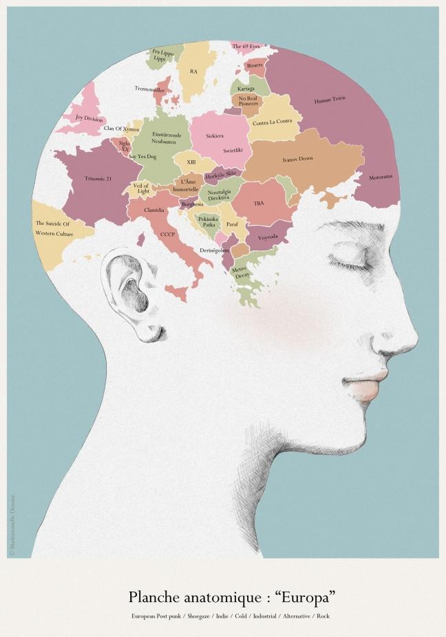 Europa-Anatomie
